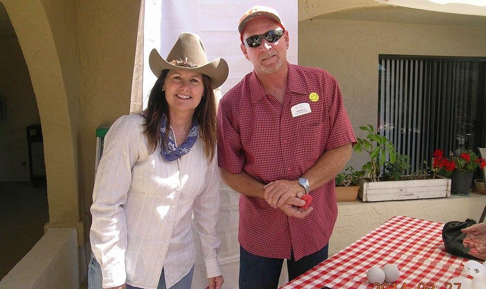 Bonnie and Herbert at Huntington Beach