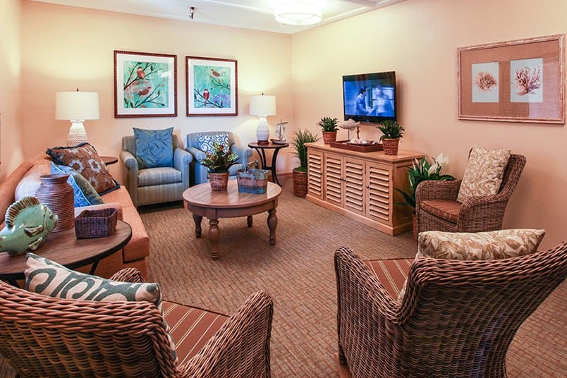 View the spacious floor plans that the senior living in Huntington Beach is offering