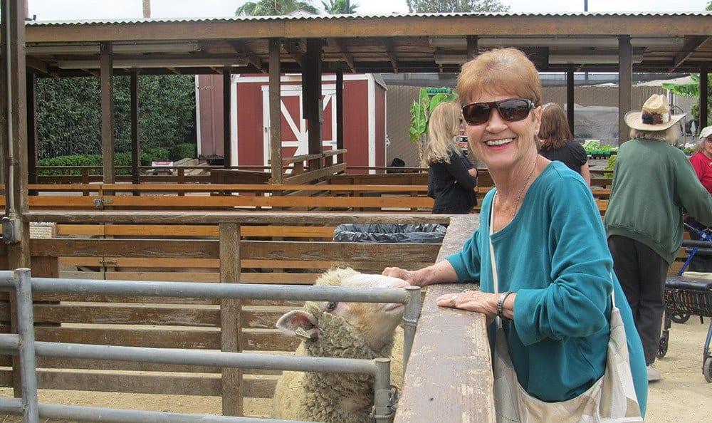 Farm outing for residents of Huntington Beach senior living