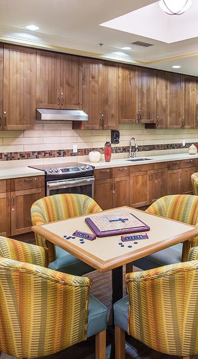 senior living community in Santa Rosa has all the amenities that are right for you or your loved one