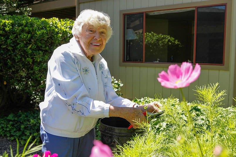 Respite care at the senior living community in Santa Rosa