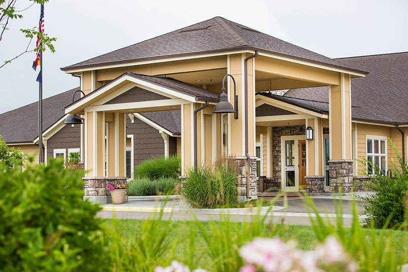 Map and directions to the senior living community in Loveland