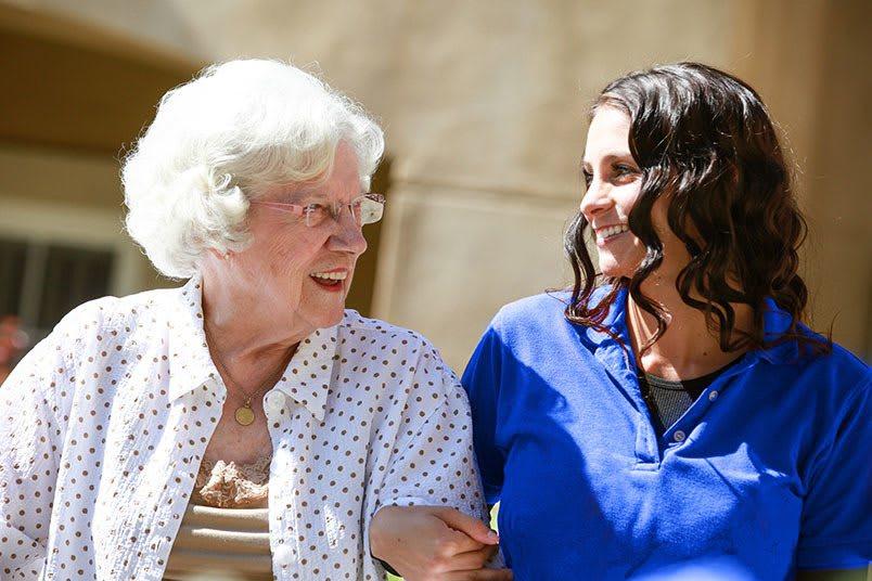 Respite care at the senior living community in Loveland