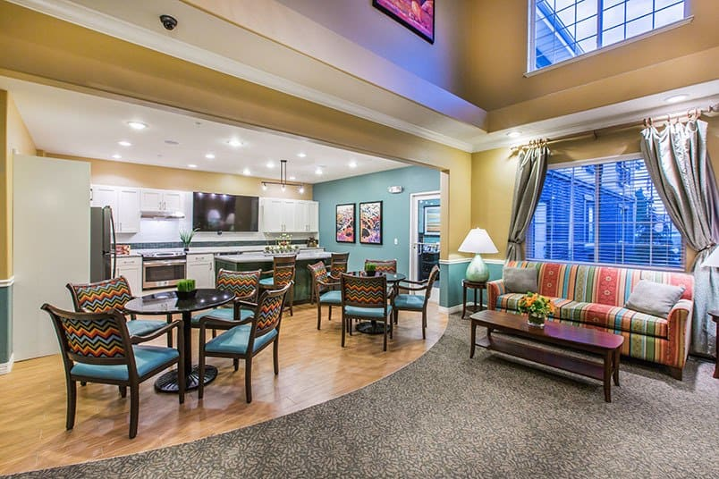 Amenities at the senior living community in Cedar Hills
