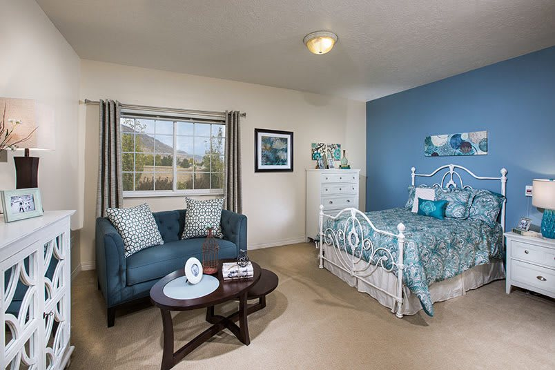 View the spacious floor plans that the senior living in Cedar Hills is offering