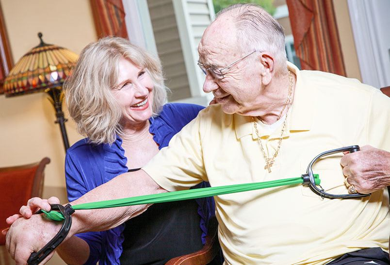 MBKonnection at the senior living community in Cedar Hills