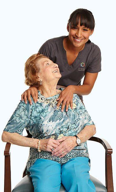 Employees at the senior living community in Cedar Hills