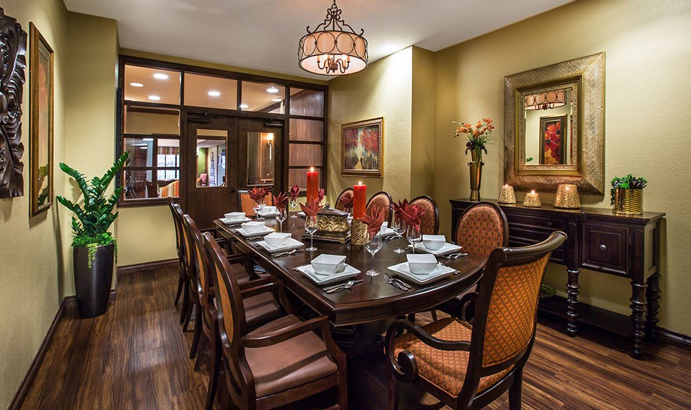 Large dining room in Tucson