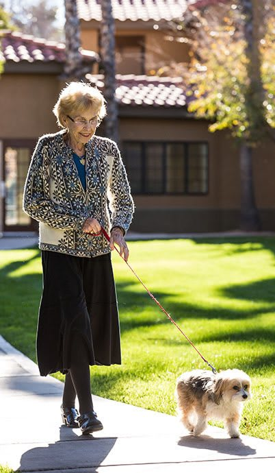 Residents enjoy living in comfort at The Country Club of La Cholla