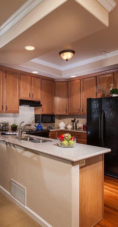 Spacious floor plans at the senior living community in Colorado Springs