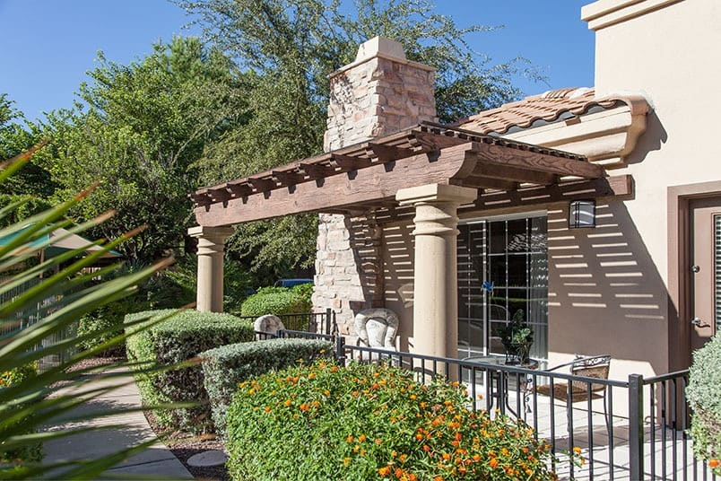 Respite care at Tuscany at McCormick Ranch senior living community in Scottsdale