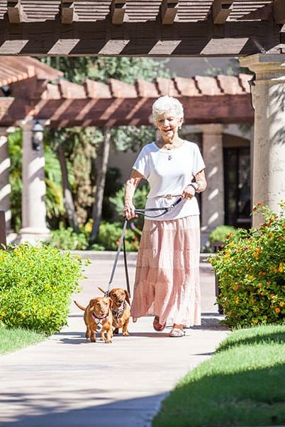 Residents enjoy living in comfort at Tuscany at McCormick Ranch