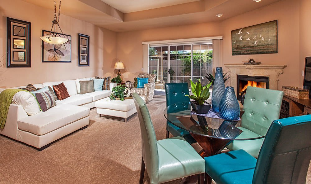 Modern Interior at Tuscany at McCormick Ranch senior living in Scottsdale