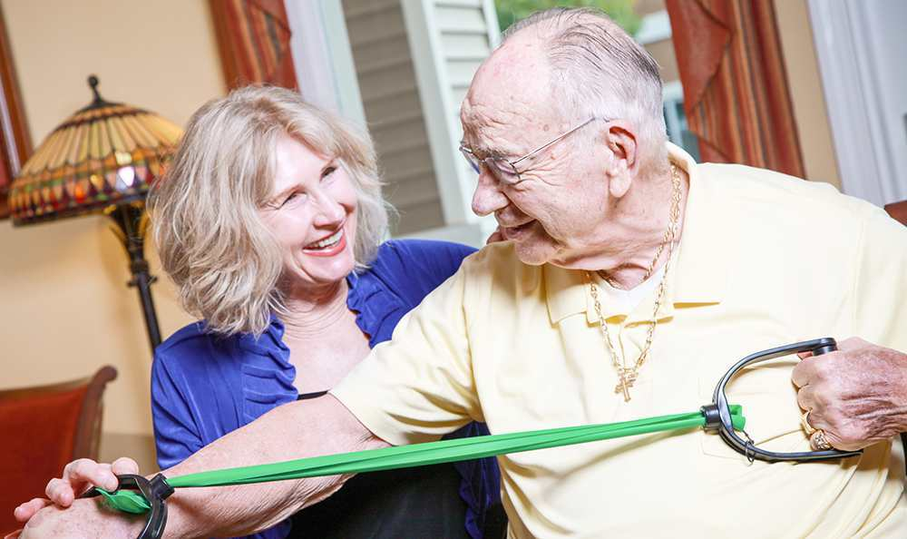 Physical Therapy at the Senior Living community in Highland