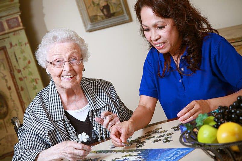Memory care for the senior living community in Riverside