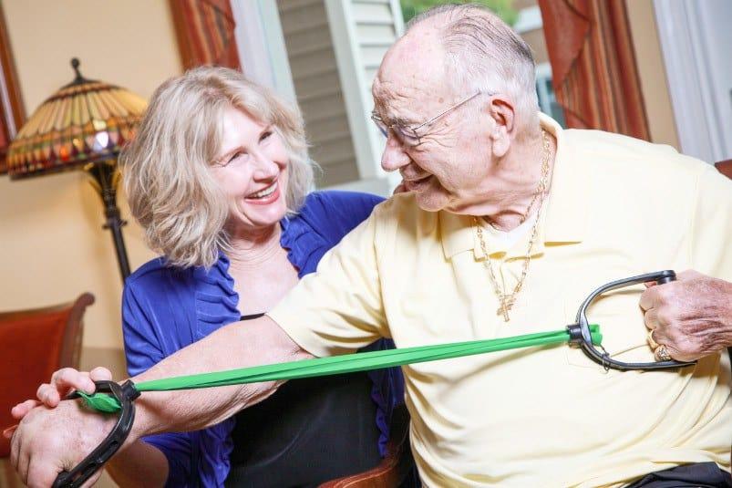 Welbrook Arlington MBKonnection at the senior living community in Riverside