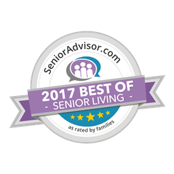 Senior Advisor 2017 Best of Independent Living Award