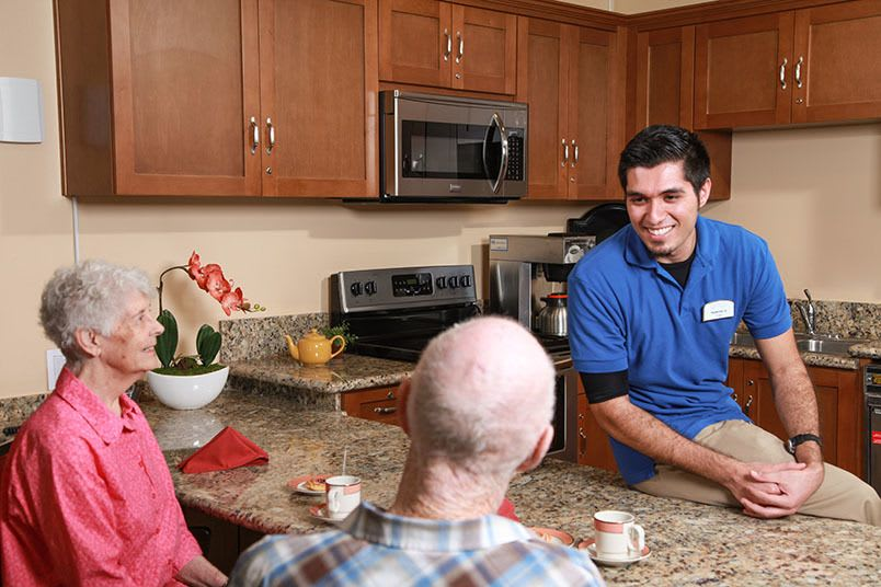Assisted living at the senior living in Seattle