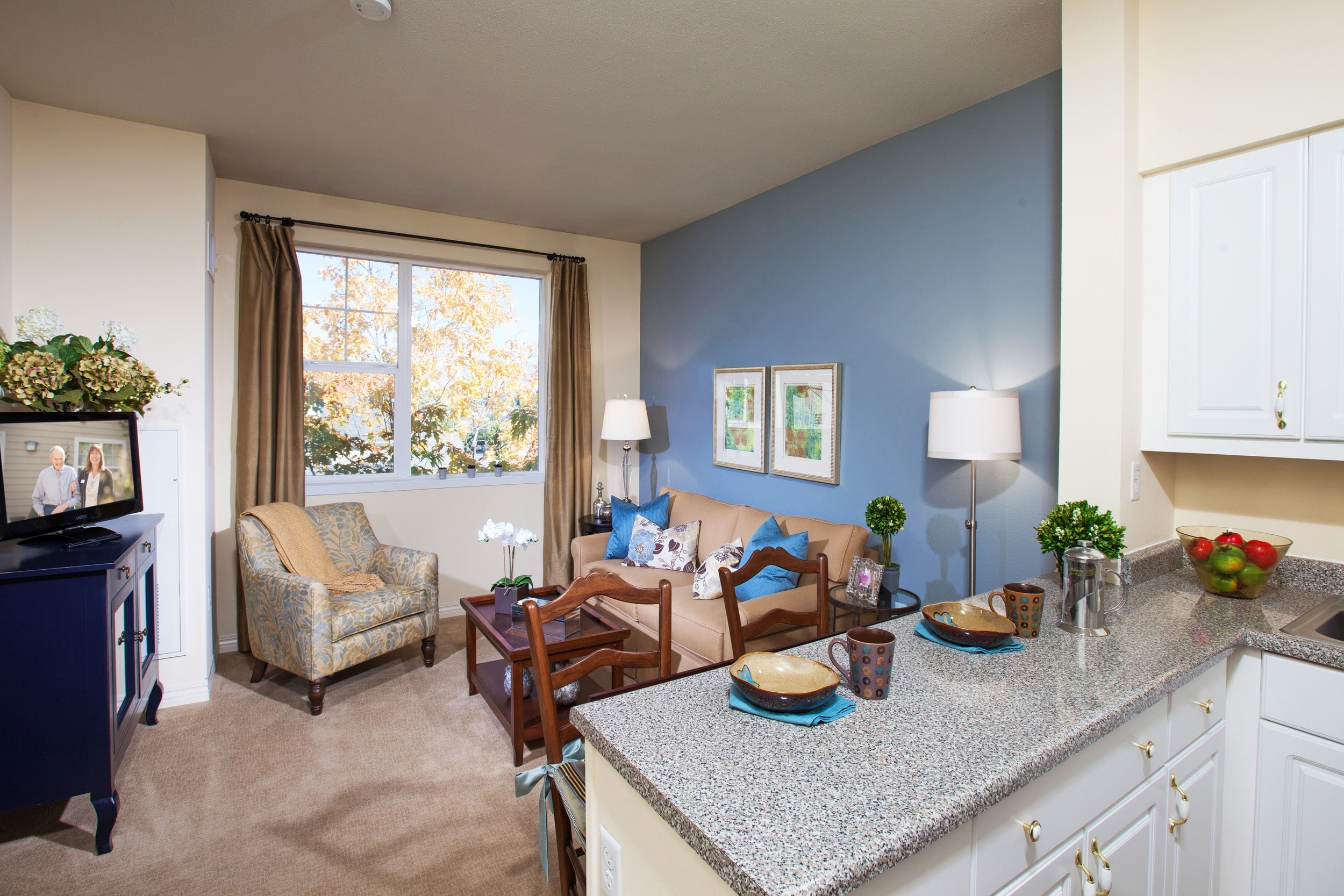 downtown woodinville, wa senior living floor plans