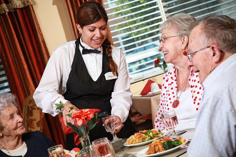 Respite care at the senior living community in Mercer Island
