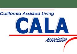 CALA logo at the senior living community in Costa Mesa
