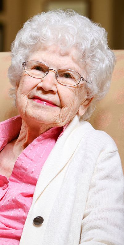 Resident enjoy her free time at the senior living community in Costa Mesa