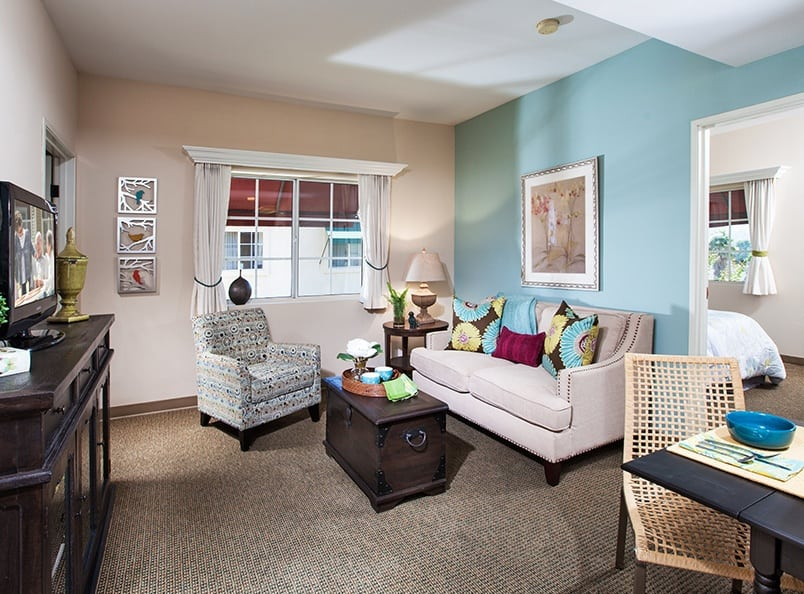 View the spacious floor plans that the senior living in Antioch is offering