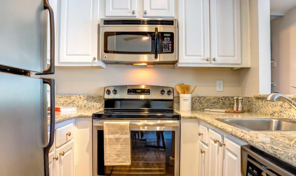 Beautiful kitchen at Sofi Berryessa in San Jose, CA