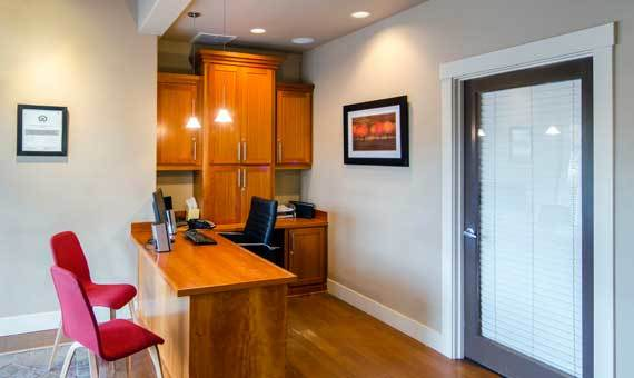 Sofi at Forest Heights offers a beautiful living room in Portland, OR