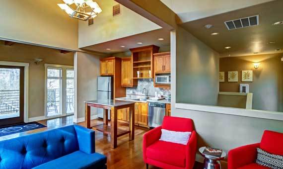 Portland, OR apartments with a fireplace