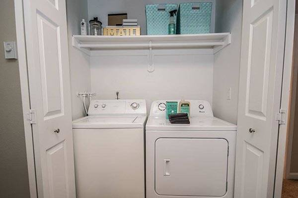 Washer and dryer at Terra Murrayhill in Beaverton