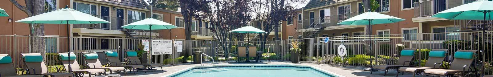 Studio, 1 and 2 bedrooms offered at apartments in San Jose