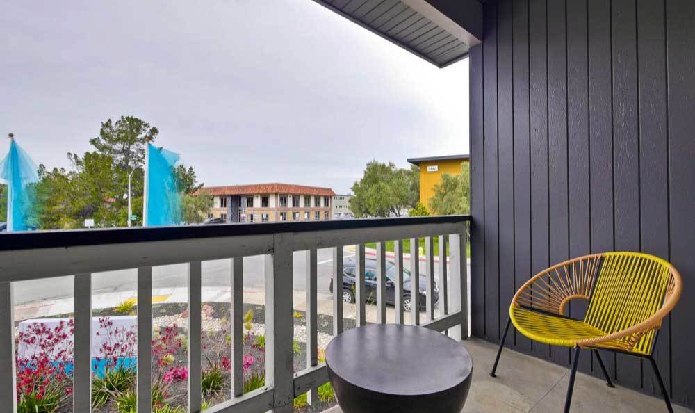 Beautiful apartments with a private balcony in San Mateo, CA