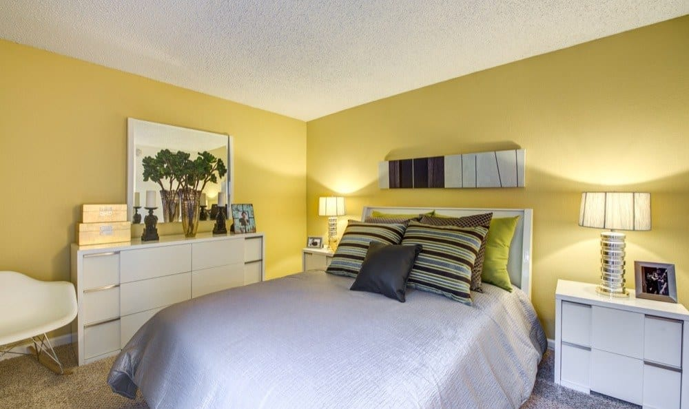 Spacious bedroom at apartments in Woodland Hills, CA