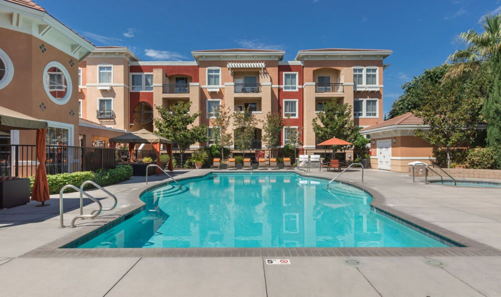 Sunnyvale apartments includes a resort-style pool