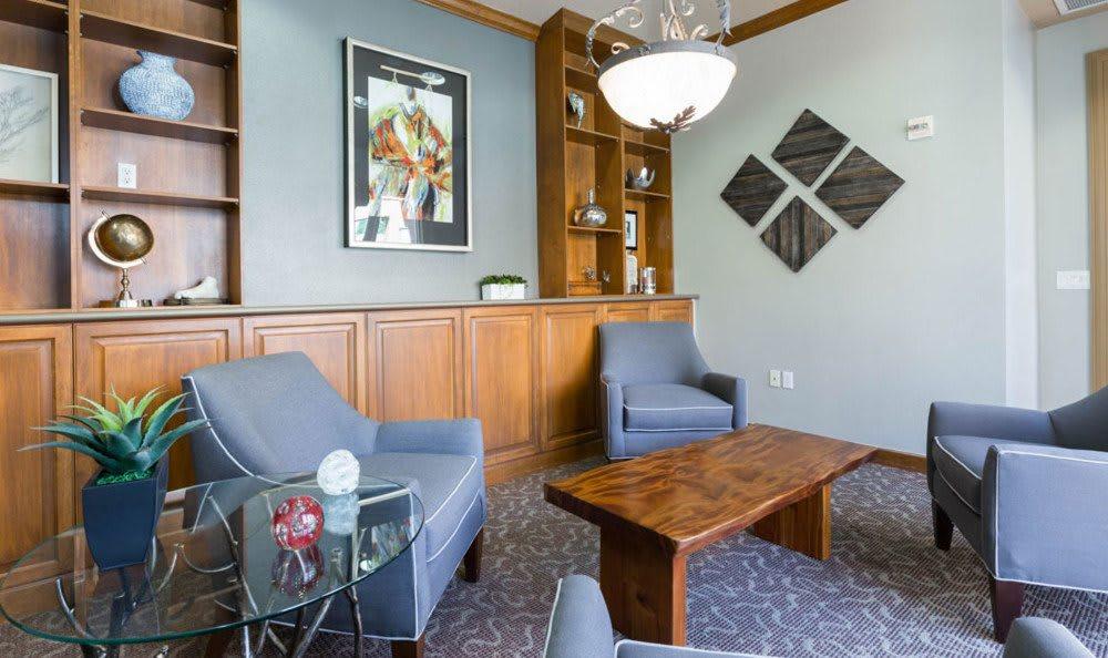 Study Room At Villa Del Sol In Sunnyvale CA
