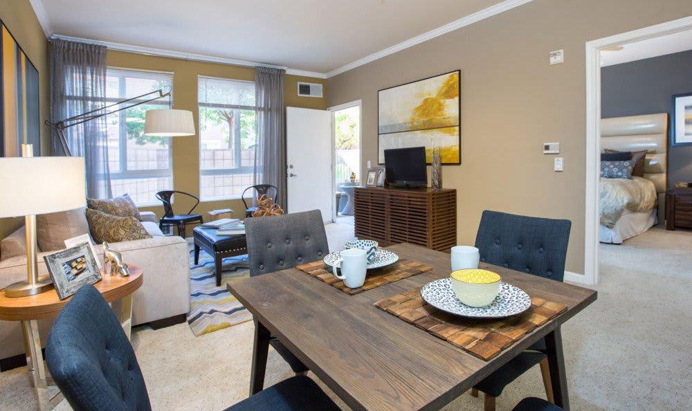 Dining Room At Villa Del Sol In Sunnyvale CA