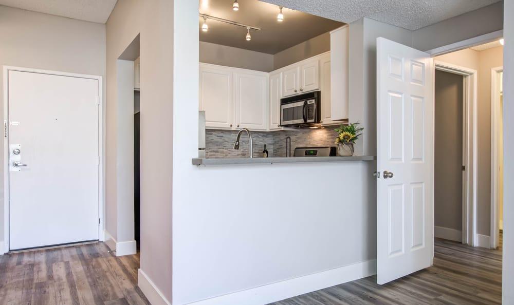Luxury apartments with hardwood floors in Los Angeles, CA