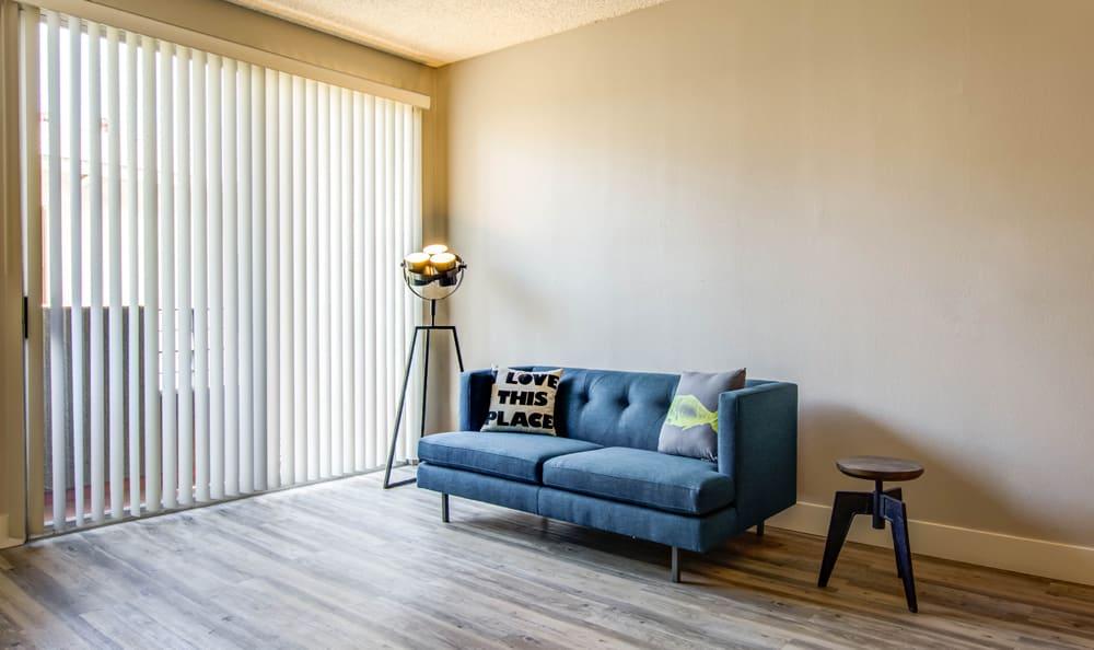Hardwood floors at apartments in Los Angeles, CA