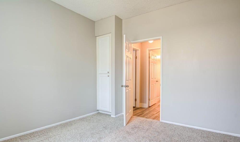 Spacious bedroom at apartments in Los Angeles, CA