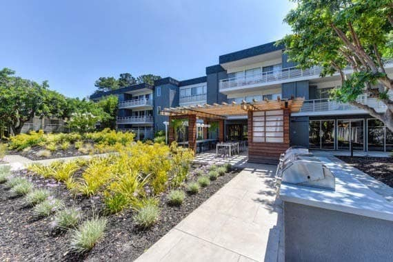 Apartments in Sunnyvale features a barbecue area