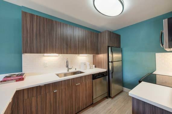 Modern appliances at apartments in Sunnyvale