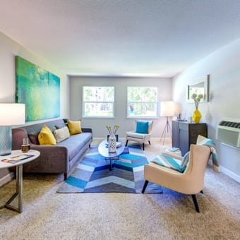 Floor plans for apartments in Sunnyvale