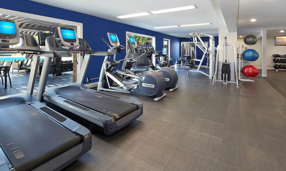 Woodland Hills apartments includes a fitness center