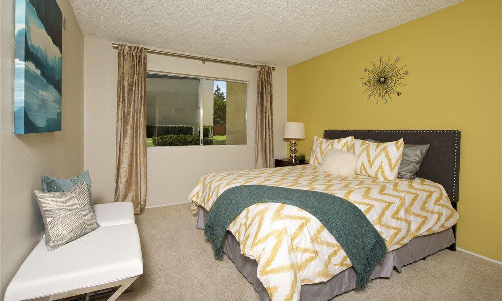 Beautiful bedroom at Verse La Mesa in La Mesa, CA