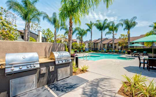 Amenities at apartments in Laguna Hills