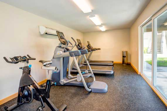 Luxury fitness center at Sofi Laguna Hills in Laguna Hills, CA