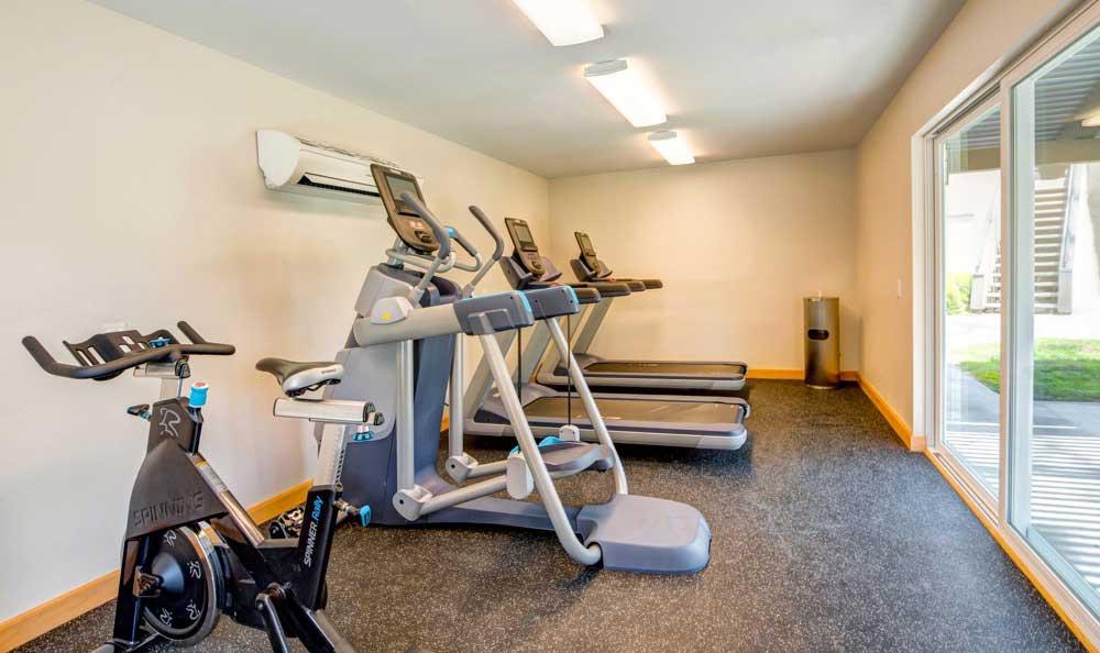 Luxury fitness center at Sofi Laguna Hills in Laguna Hills, CA