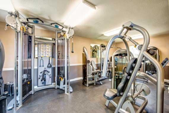 fitness center at Sofi Laguna Hills