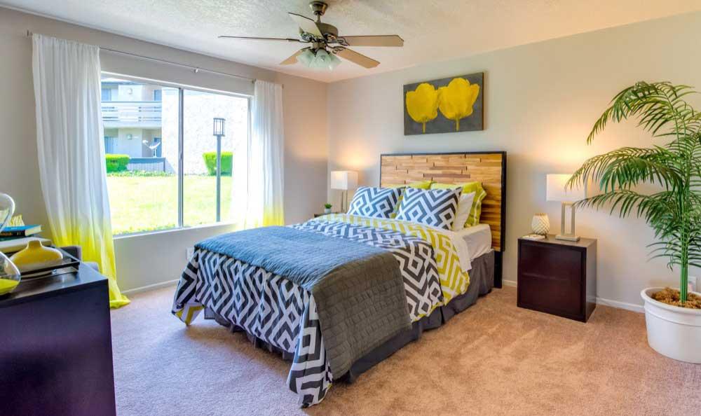Beautiful bedroom at Sofi Laguna Hills in Laguna Hills, CA